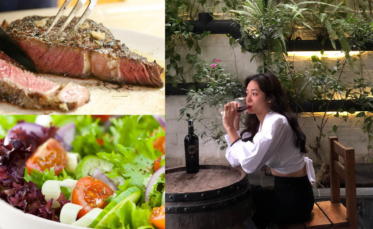 Thưởng thức các món ăn tinh tế, Rượu vang Ý và Xì gà Cuba.